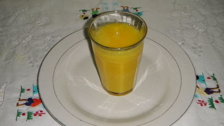 Recettes du Chef: Le jus de gingembre frais et de curcuma