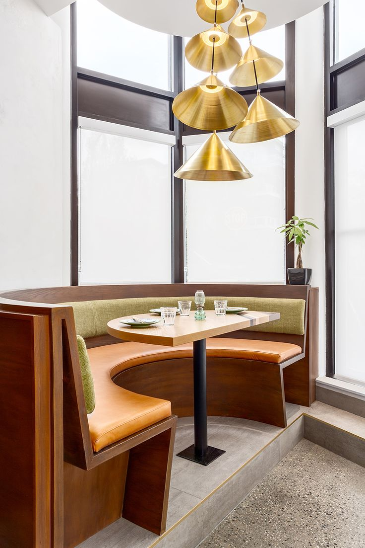 Chic Contemporary Spaces Rendered By Anh Nguyen: 25+ Best Ideas About Banquettes On Pinterest