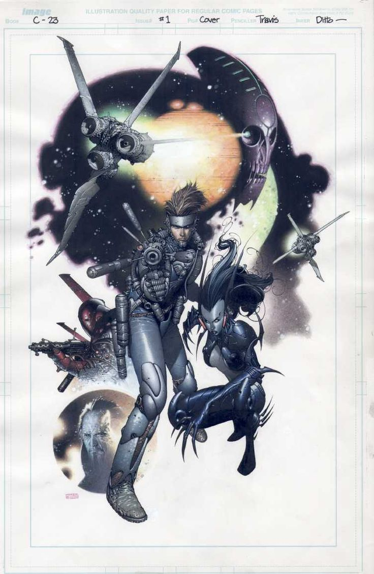 C-23 #1 cover by Travis Charest. Aaaaaaand Charest does it again.