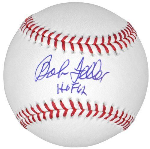 Bob Feller Autographed Baseball w/ HOF 62 - PSA/DNA Certified - Autographed Baseballs by Sports Memorabilia. $71.99. Bob Feller Autographed Baseball w/ HOF 62 - PSA/DNA. We stand behind the quality of all pieces on our site, and each one has been evaluated by our customer care staff. This is a rare piece and comes with Sportsmemorabilia s tamper-proof numbered hologram. Getting a quality piece like this is a rare opportunity, since Bob Feller doesn't do signings ...