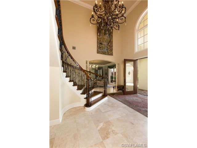 Grand Foyer Chandelier : Images about naples florida front entries and