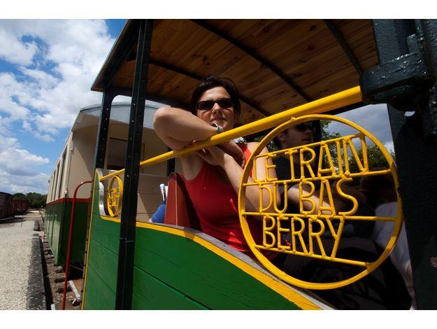 Montez à bord du Train du Bas-Berry !