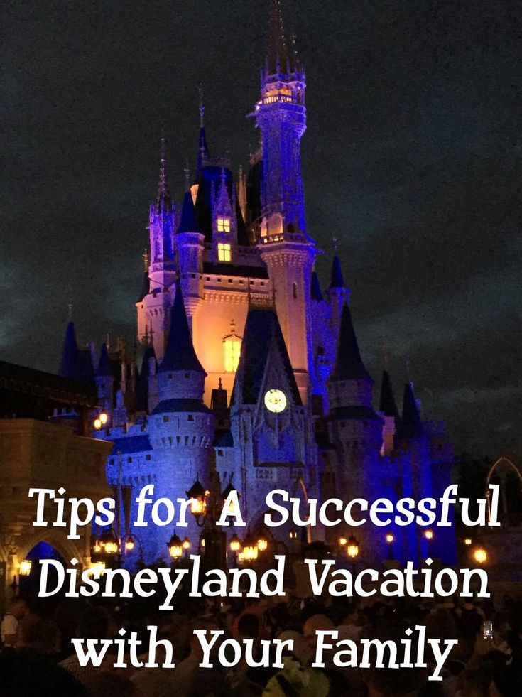 Tips for A Successful Disneyland Vacation with Your Family