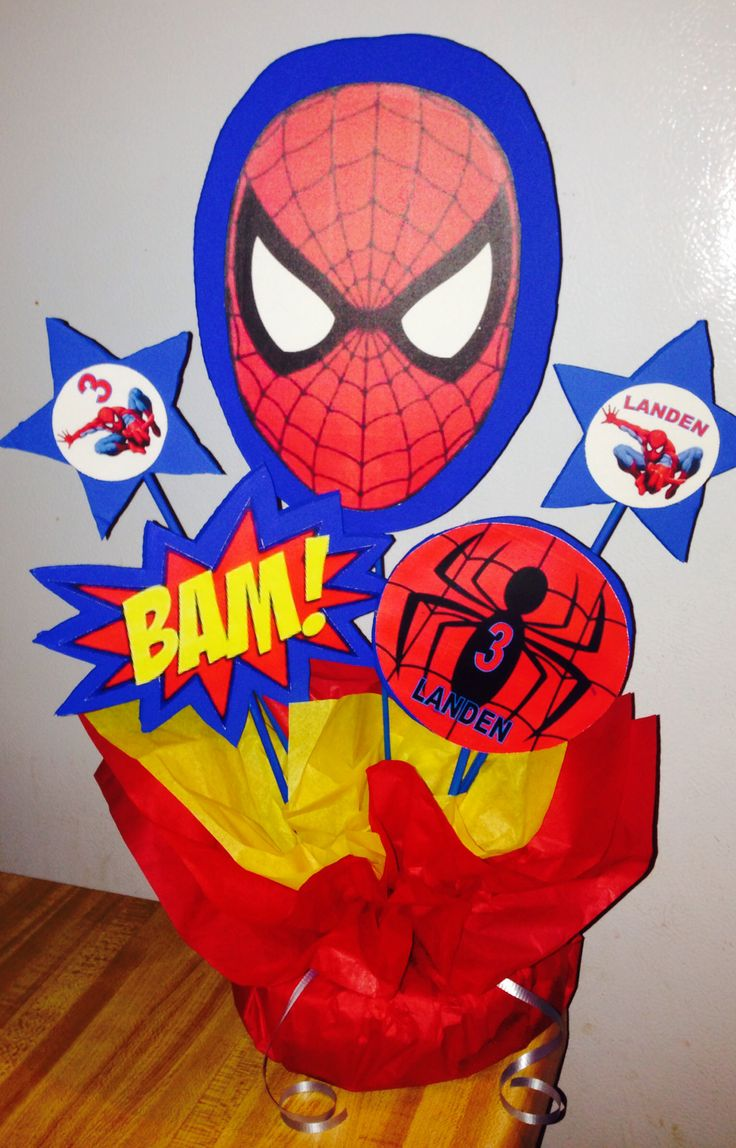 60 best images about Spider-Man Party on Pinterest | Food cards ...