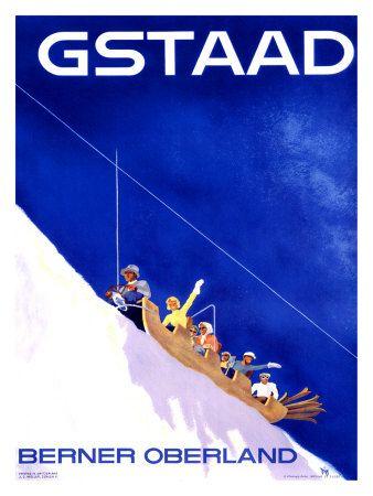 Gstaad Berner Oberland par Alex W. Diggelmann