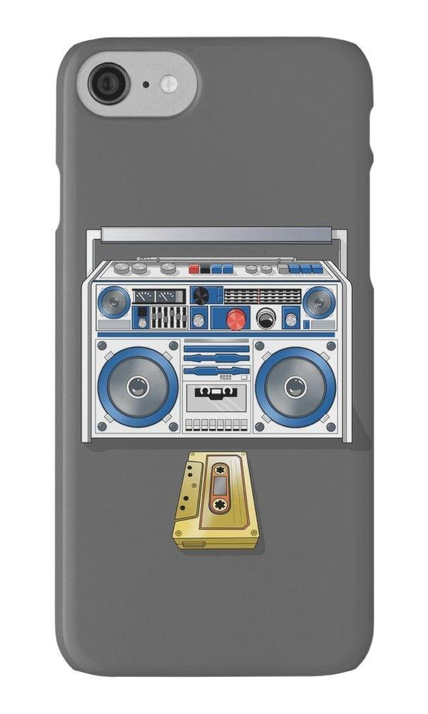 «Retro Star Wars Boom box/Ghetto Blaster R2-D2 C-3PO» de Creative Spectator