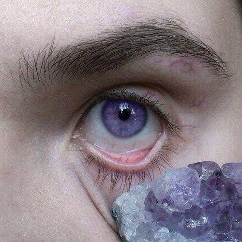 purple, eye, and eyes image   Amethyst, Purple or Violet ...