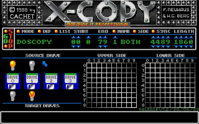 Hi guys, I'm sure that many of you have fond memories of the legendary disk copier on the Amiga, namely X-Copy! I remember using this tool a lot myself and so did most people I knew who had A…