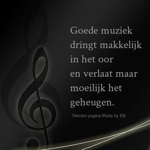 Goede muziek ...