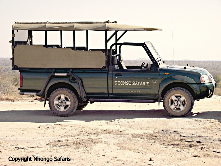 One of the new open safari vehicles.