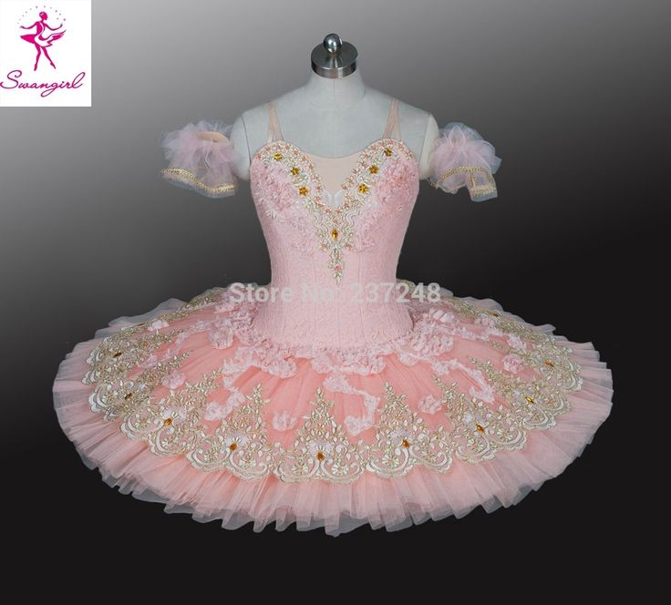 Pink Tutu Skirt Women Professional Bailarina For Competition Or Performance Sleeping Beauty