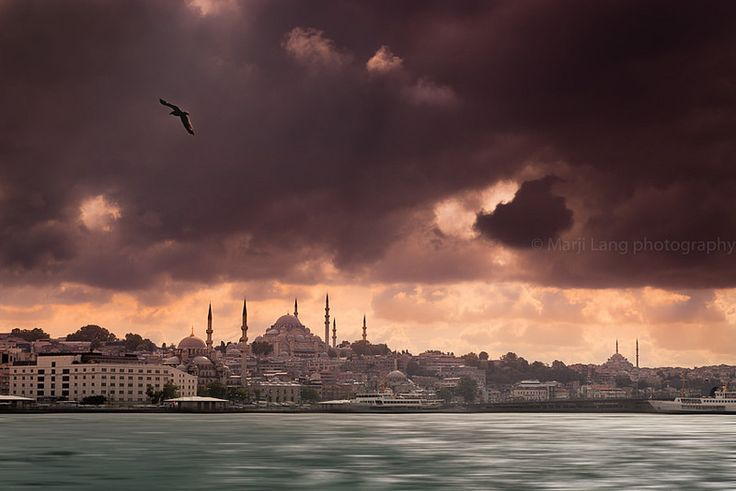 Stormy Bosphorus. Istanbul, Turkey | by Marji Lang Photography