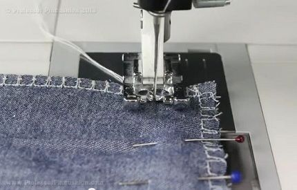 Tips and tricks for sewing on denim