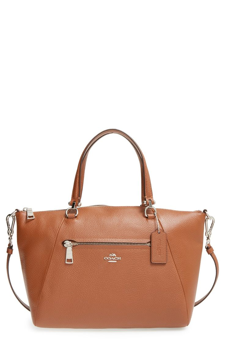 COACH 'Prairie' Leather Satchel