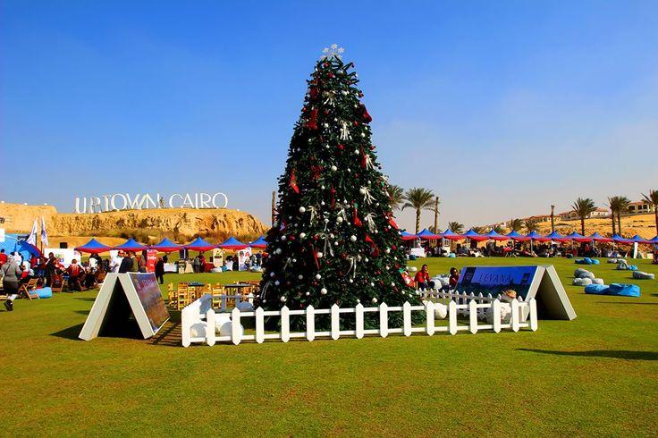 Nothing beats Uptown Cairo's Christmas spirit! Join us now! #Emaarmisr #christmas #uptowncairo