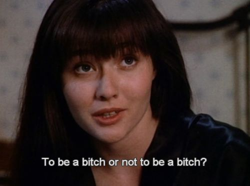 That's my first thought in the morning. I love you Brenda Walsh and I always will.