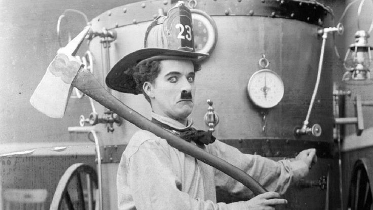 Charlie Chaplin, Fireman (1916)