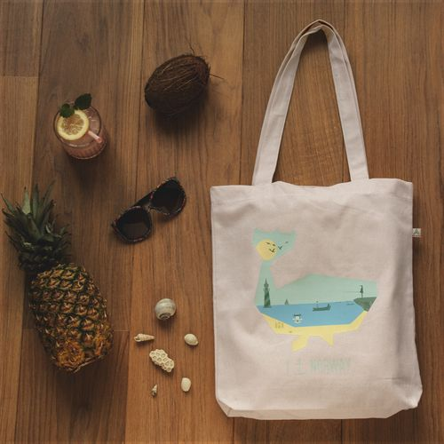 Summer totebag made by Nordisen