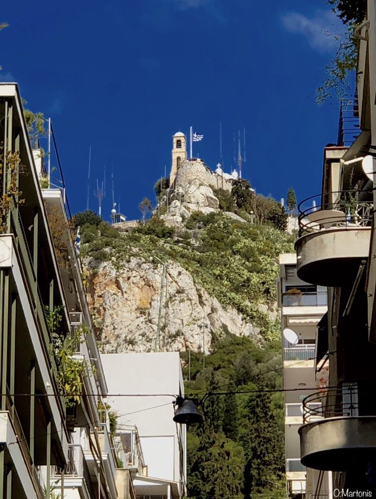 Lycabettus Hill,Athens,Greece