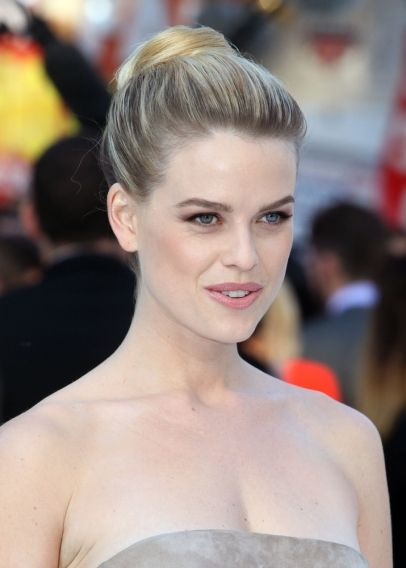 Alice Eve arriving for the UK premiere of 'Star Trek Into Darkness' at The Empire Cinema, London.