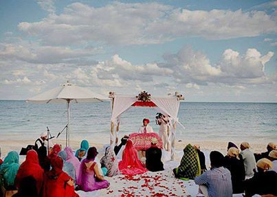 sikh wedding on the beach