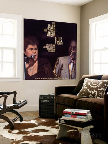 Etta James - Blues in the Night, Vol.1: the Early Show Wall Mural at AllPosters.com