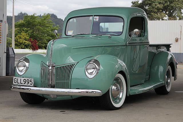 1940 Ford pick up Maintenance of old vehicles: the material for new cogs/casters/gears could be cast polyamide which I (Cast polyamide) can produce