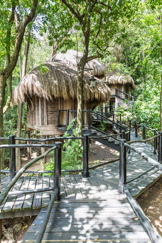 Rainforest spa in St Lucia