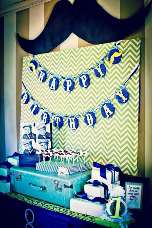97 best images about rustic mustache bash on pinterest for Backdrop decoration for birthday