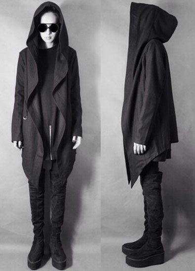 Выкройка пальто с капюшоном для начинающих 40-62 фото1