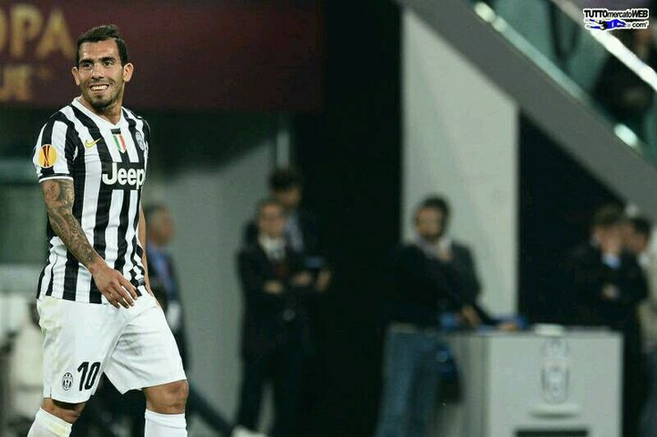 Carlos tevez  Leg 2 quarter final UEL  Juventus 2-1 lyon