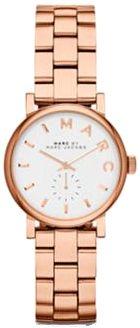 Marc by Marc Jacobs Baker MBM3248:En damer klocka definieras av enkelhet, gyllene armband och vit ratten färg, en produkt av Marc by Marc Jacobs med 2 års garanti. #damklockor #klockadam #marcjacobsklocka #marcjacobsklockor