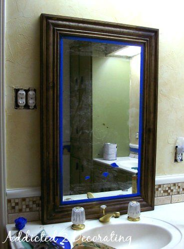 make your own bathroom mirror frame 25 best ideas about framing mirrors on diy 25601 | cf72847dff2dc282dc604081ff1d006f framed bathroom mirrors diy mirror