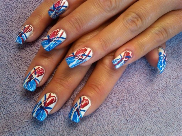 166 best Fourth of July Nail Art images on Pinterest | Nails ...