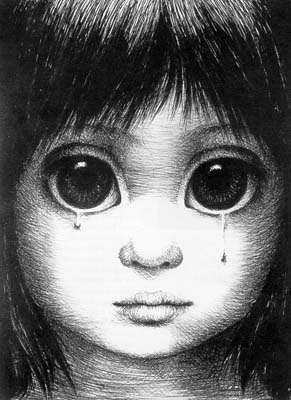 Margaret Keane.  beautiful art and one of Jehovah's Witnesses