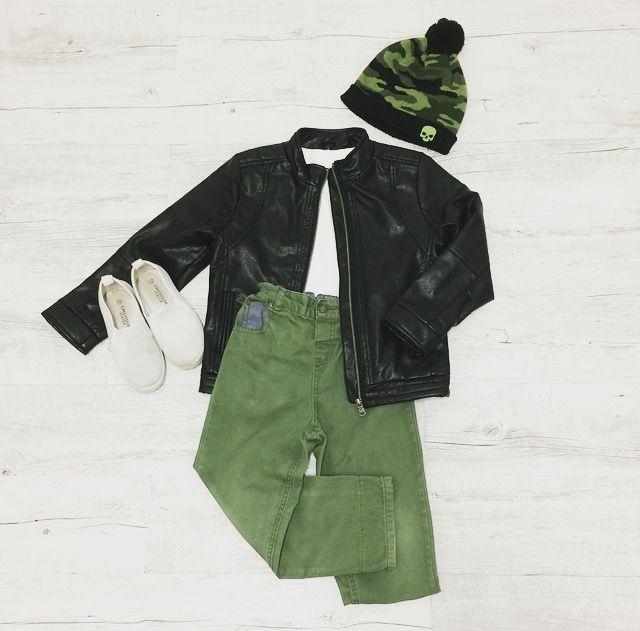 Kickin In Camo - Harvey wears:Beanie: K-Mart, H&T Jacket: Peter Morrissey Kids, T-Shirt: Emerson Junior, Cargos: K-Mart, H&T, Shoes: Emerson Junior