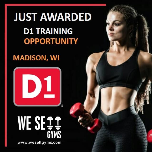 Congratulation D1 Training For Just Awarding A New Location In Madison Wi Gym Franchise Gym Workouts Best Gym