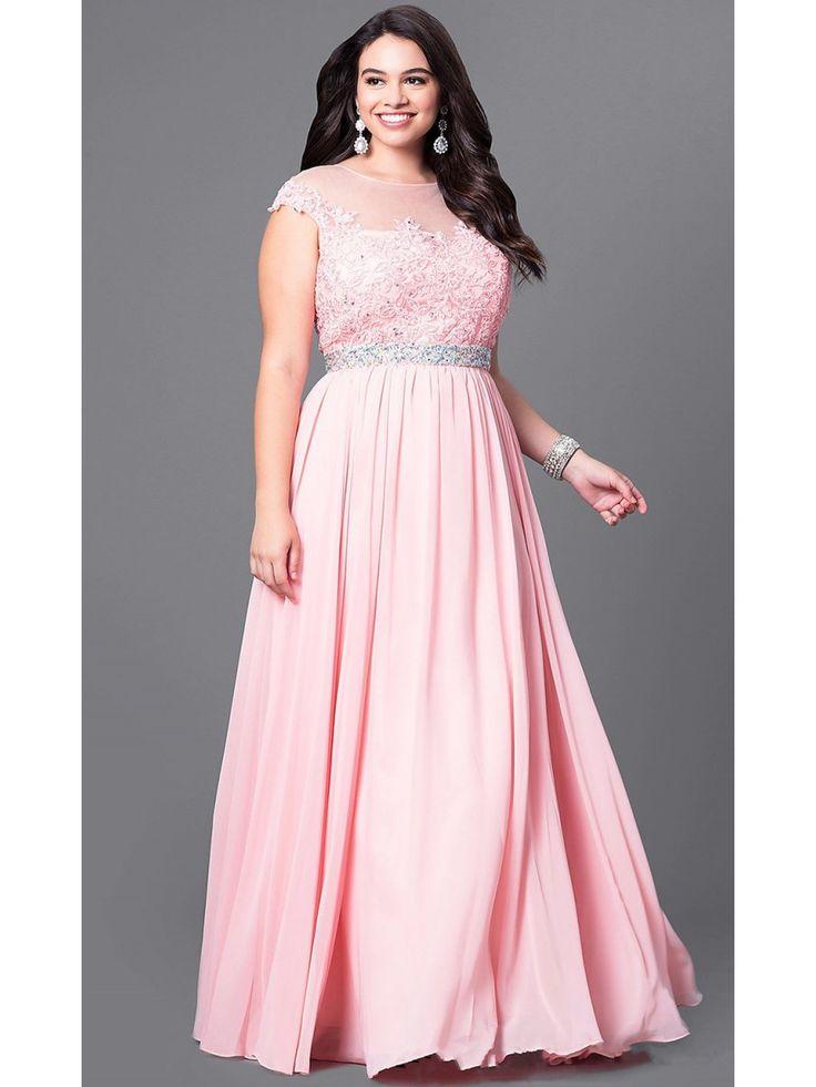 Mejores 105 imágenes de Plus Size Prom Dresses en Pinterest ...
