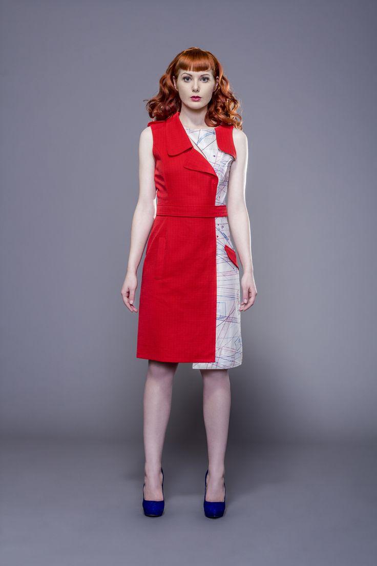 red dress by Fanfaronada