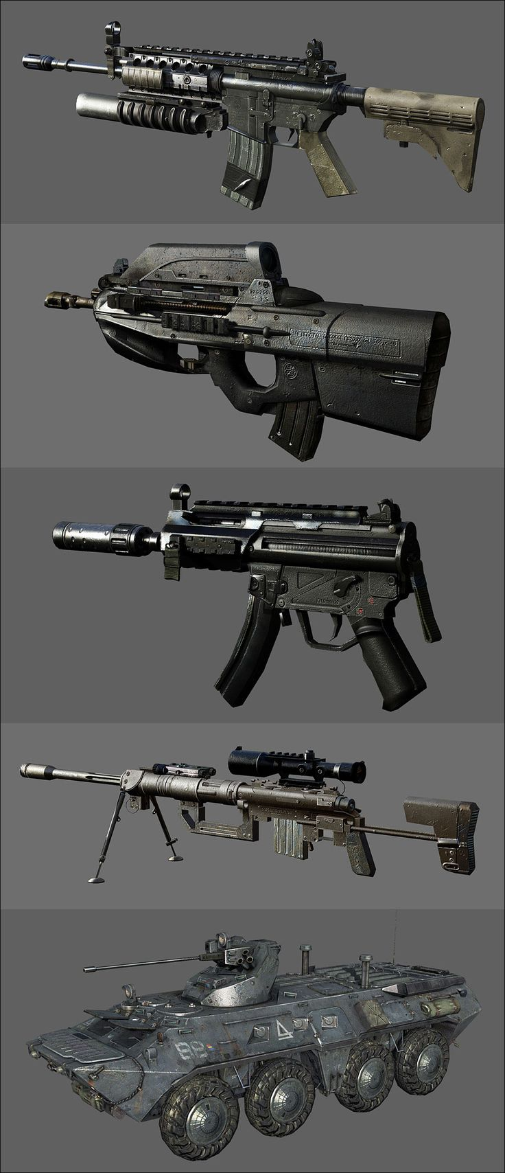Call Of Duty : Modern Warfare 2 weapon. Fad = worst weapon ever worst recoil. Intervention = best weapon