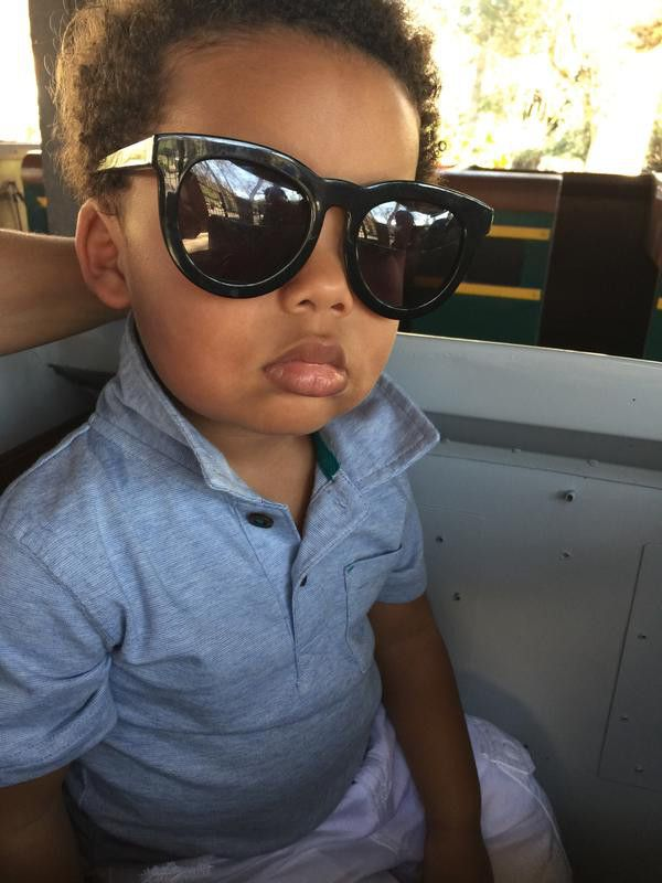 Sebastian Khalifa from Cutest Celeb Kids on Instagram  Wiz Khalifa and Amber Rose's son looks sooo cool with shades after walking the 2015 Grammys red carpet.