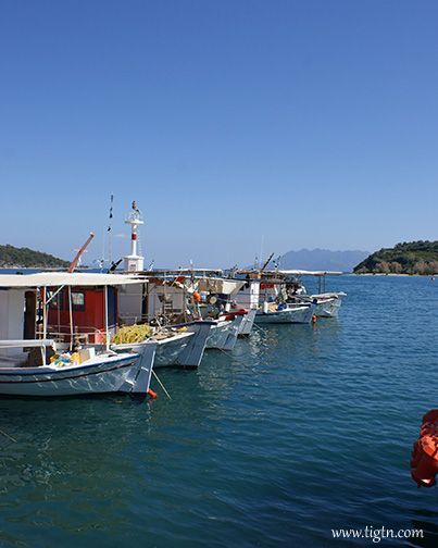 Fishing boats in Palea Epidavros (Old Epidaurus) in #Argolida - #Peloponnese - #Greece