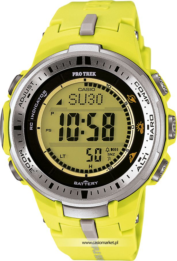 Jeden z najnowszych zegarków marki #casio z kolekcji #protrek. Polecamy : )