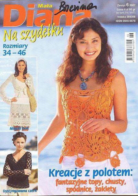 7 Revista de moda femenina para descargar gratis   Tejidos a Crochet