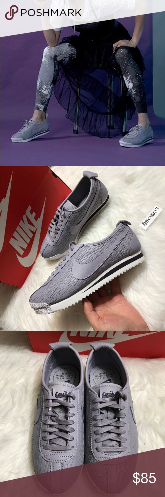 OFFER ME⚡️ Nike Cortez 72' Brand new with the  box but no lid. Color is Provence Purple Nike Shoes Athletic Shoes