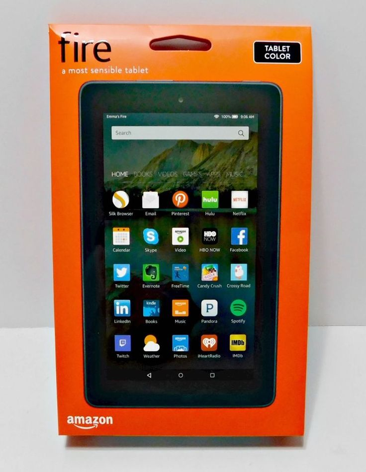 "New Kindle Fire HD 7"" IPS 8 GB Black Front & Rear Camera Amazon Underground  #Amazon"