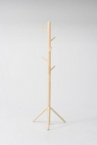Wood Hanger 送料無料 アンティークポールハンガーラックナチュラル 新品 インテリア 雑貨 家具 Antique ¥3989yen 〆06月25日
