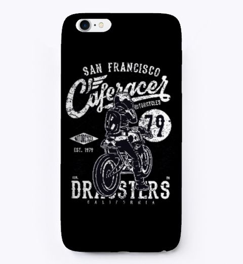 Best Bike Lover Phone Case !  Black T-Shirt Front