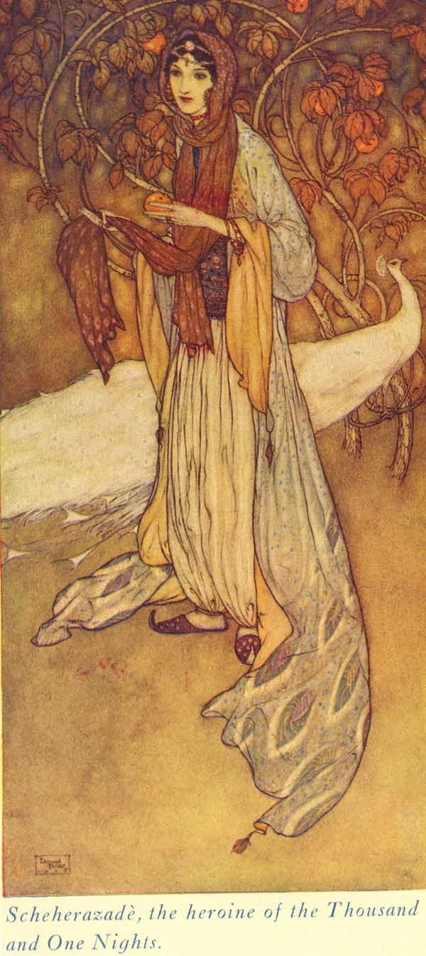 Arabian Knights,  Scheherezade,  Edmund Dulac
