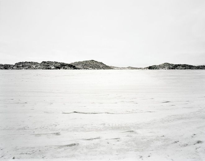 Edgar Martins, Black Minutes of Memorial Snow, 2010, Zillertal valley, Austria